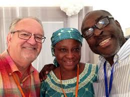 Niyi Gbade & his wife, Tayo during my visit to Nigeria last August