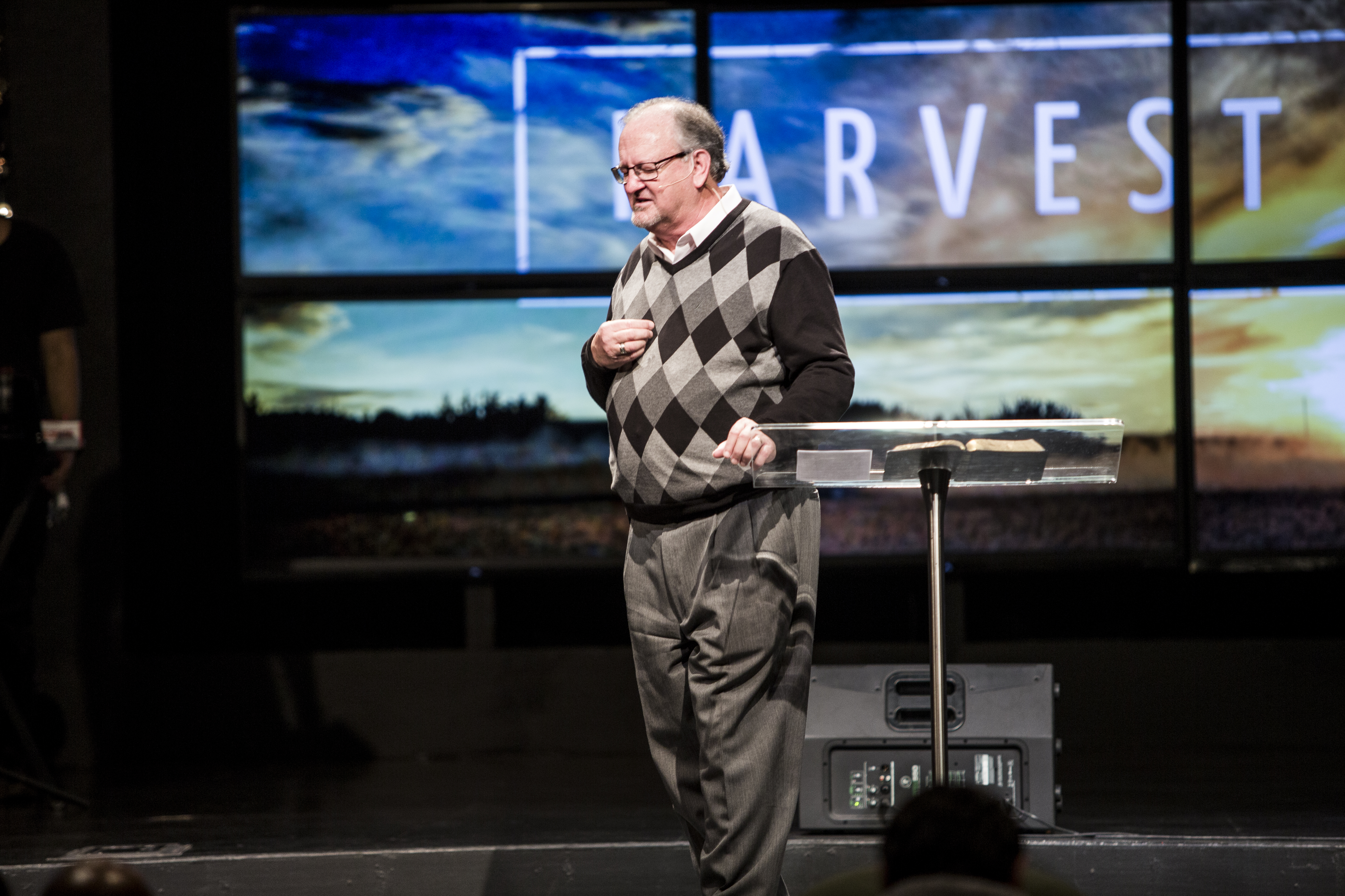 Can't tell it from this pic where I was leading some in a prayer of salvation, but I was FEELING what I preached today!