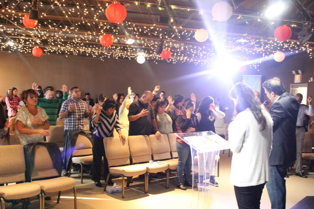 At our Blue Island campus, one first-time guest prayed to receive Jesus, and the congregation is really motivated about reaching people this Easter!