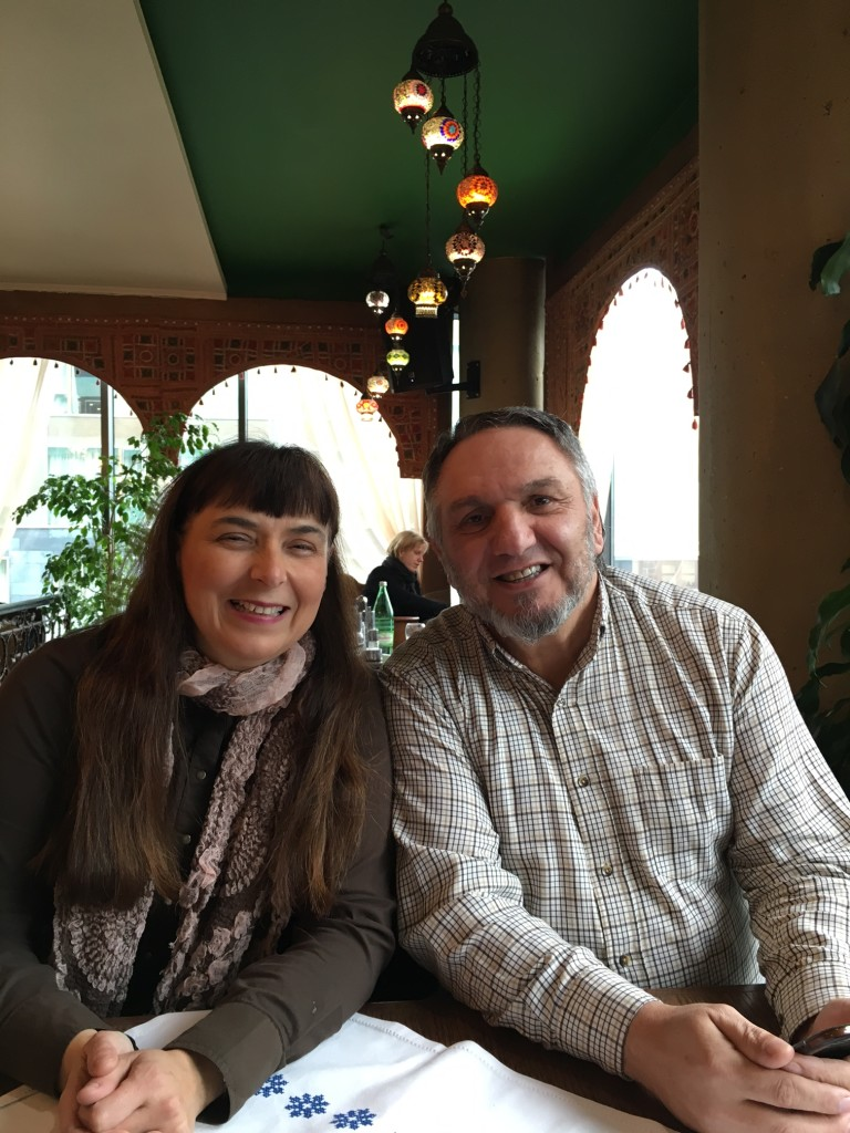 We have THOROUGHLY enjoyed the fellowship with Pastors Damir & Maria Alic this week - great conversations that I believe have been helpful to the work here.