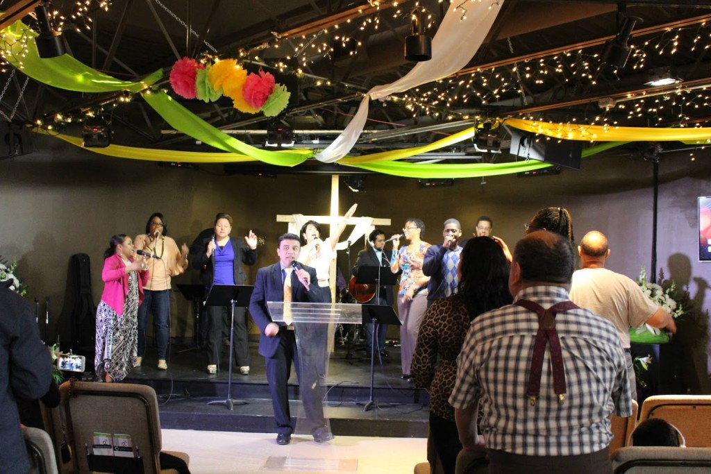 The worship was anointed, too!