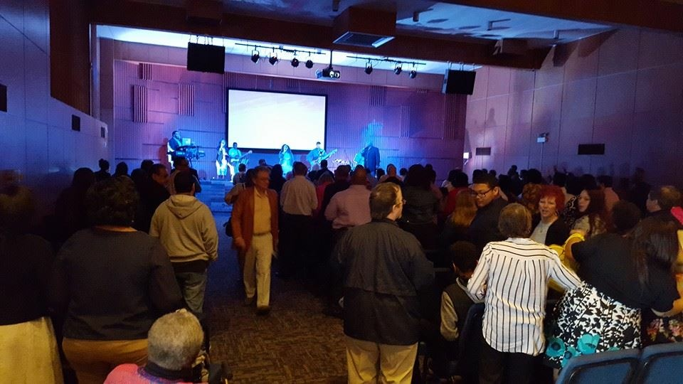 And what an OPENING it was, with an OVERFLOW crowd of 578 people in the 2 services at NWI!