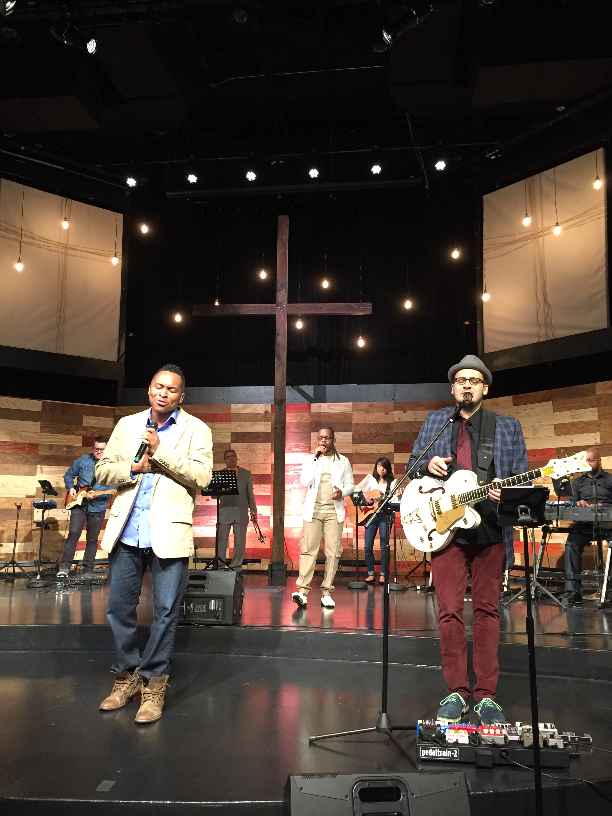 These guys planned the PERFECT worship set & the SoP set the atmosphere in all 5 services - such anointing was in the room!