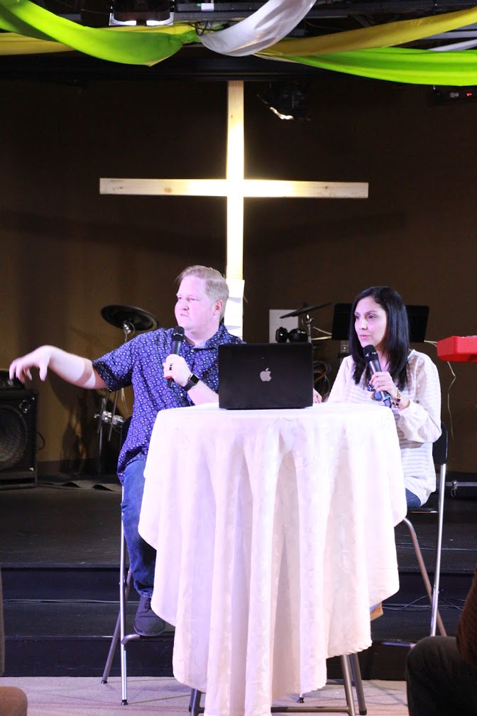 Pastors Brent & Sol ministered at our Blue Island campus in the absence of Pastors William & Melek.
