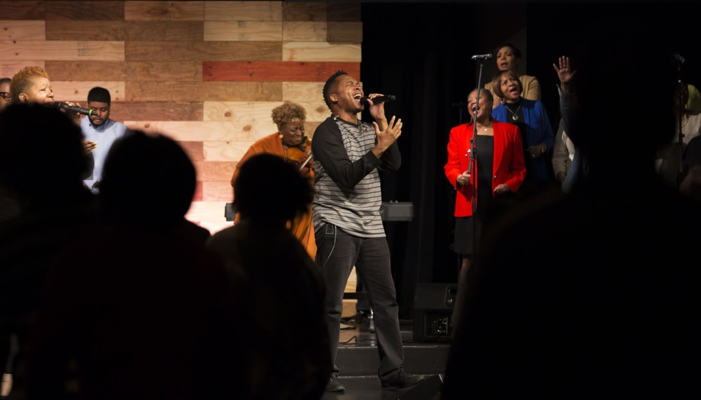 """The ANOINTING on Jon & the whole team as they sang """"Worthy"""" was tangible!"""