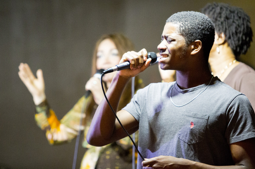 Feel the passion of our Blue Island worship team?