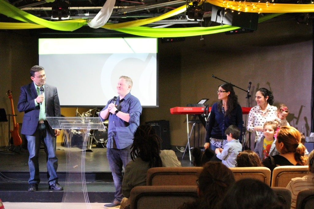 Pastor William introduced Pastors Brent & Sol as the NEW campus pastors for Blue Island