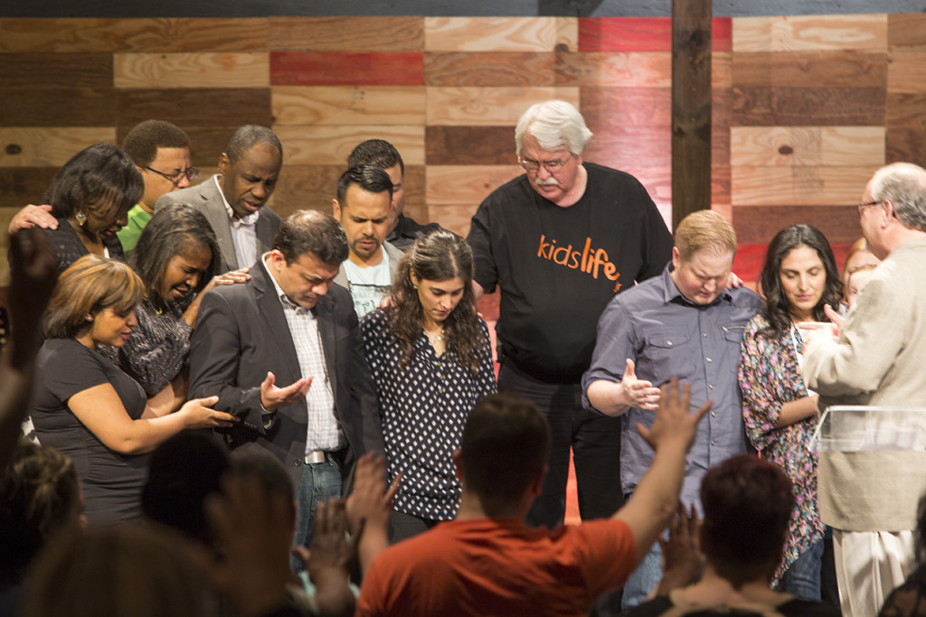 It was a special moment when our pastors, elders & congregation prayed over the Arevalo's and Brent & Sol during this pastoral transition