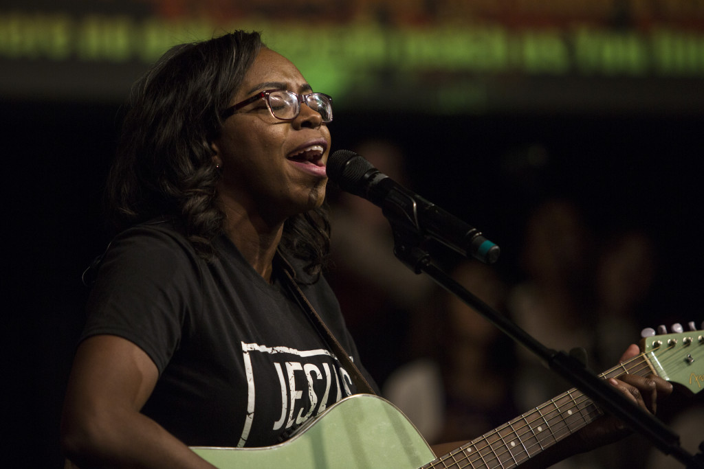 With Harmony forced to play drums & Pastor Jon leading worship at NWI, Tiffany & team stepped up to not only lead us into His Presence in worship, they also set the atmosphere for a powerful time of prayer to close the message!