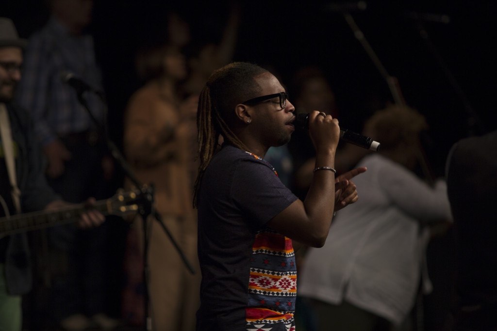 Ch'vez & the SoP (with several youth joining them today) led us into His Presence!