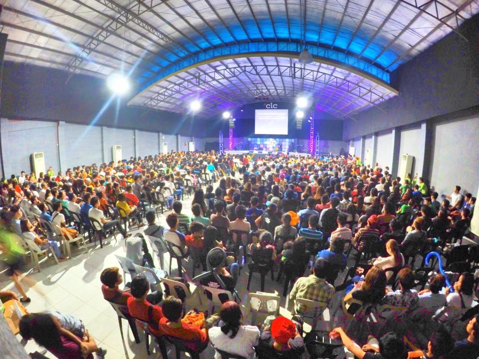 "In Davao City, Pastor Joel Montes organized a ""Davao Youth Fest"" which attracted over 30,000 youth, and thousands of them received the Lord. This afternoon 700 of these new Christians attended our Davao City campus!"