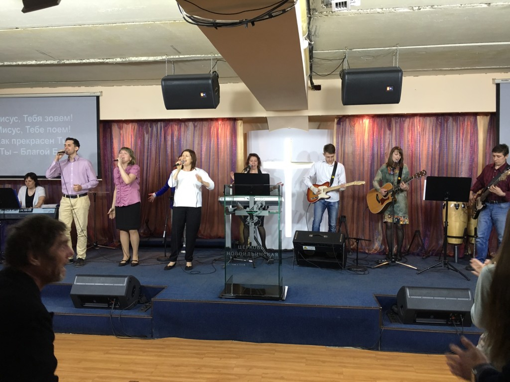 Tonight was the opening of the missions conference & the worship team was on FIRE!