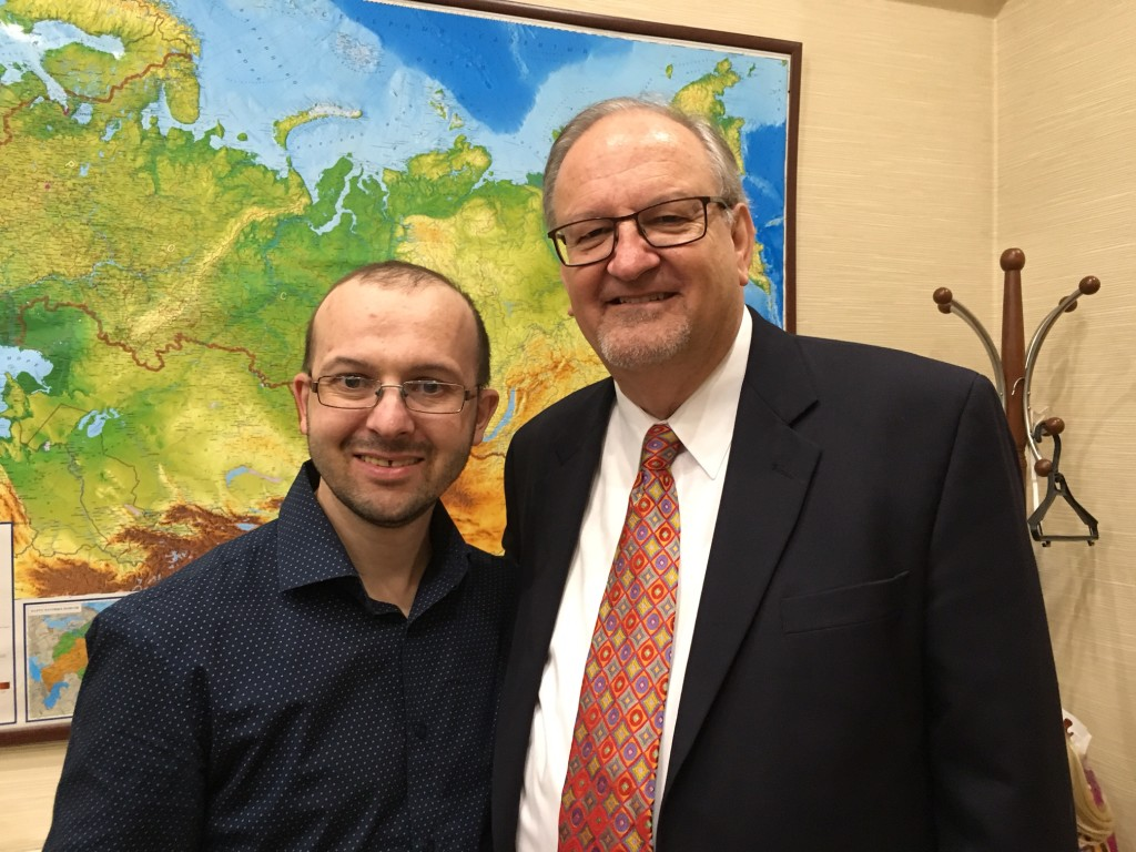 Sergei is one of those infectious zealots that every pastor loves.  He was radically saved from drug addiction & now serves as the Regional Director for Every Home For Christ, reaching thousands of people in Siberia!