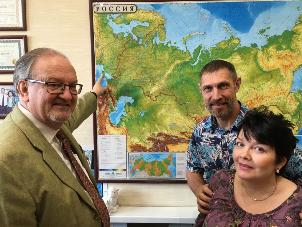 This pastor couple traveled for 6 days by car - they serve in Crimea, near the Ukrainian border!