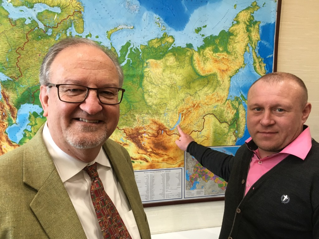 This pastor traveled from the furthest point west of Novokuznetsk - took him 2 full days of driving to get here!