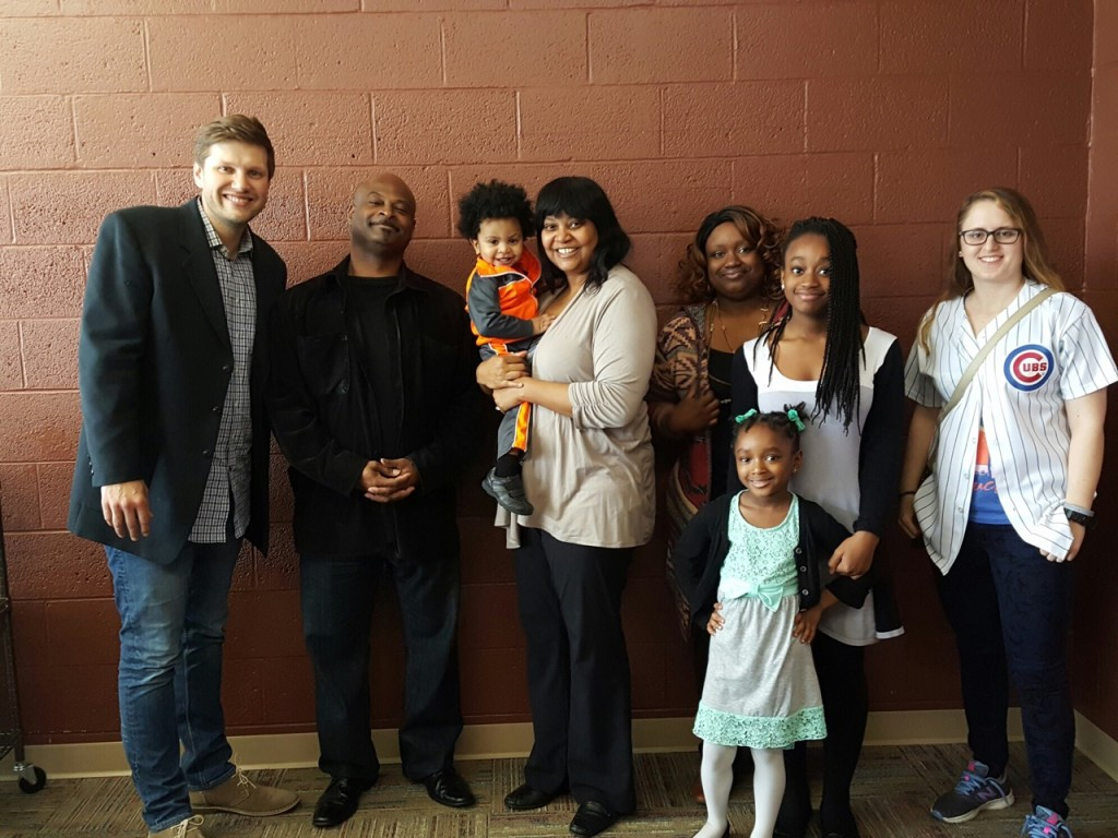 At NWI, Pastor Sam welcomed 3 new families into MEMBERSHIP at CLC!