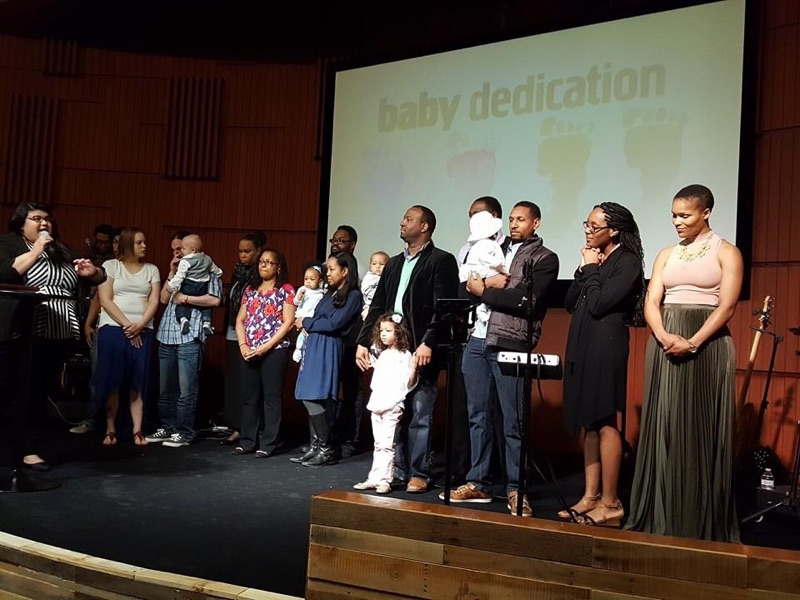 Our NWI campus also dedicated 3 babies to the Lord today-