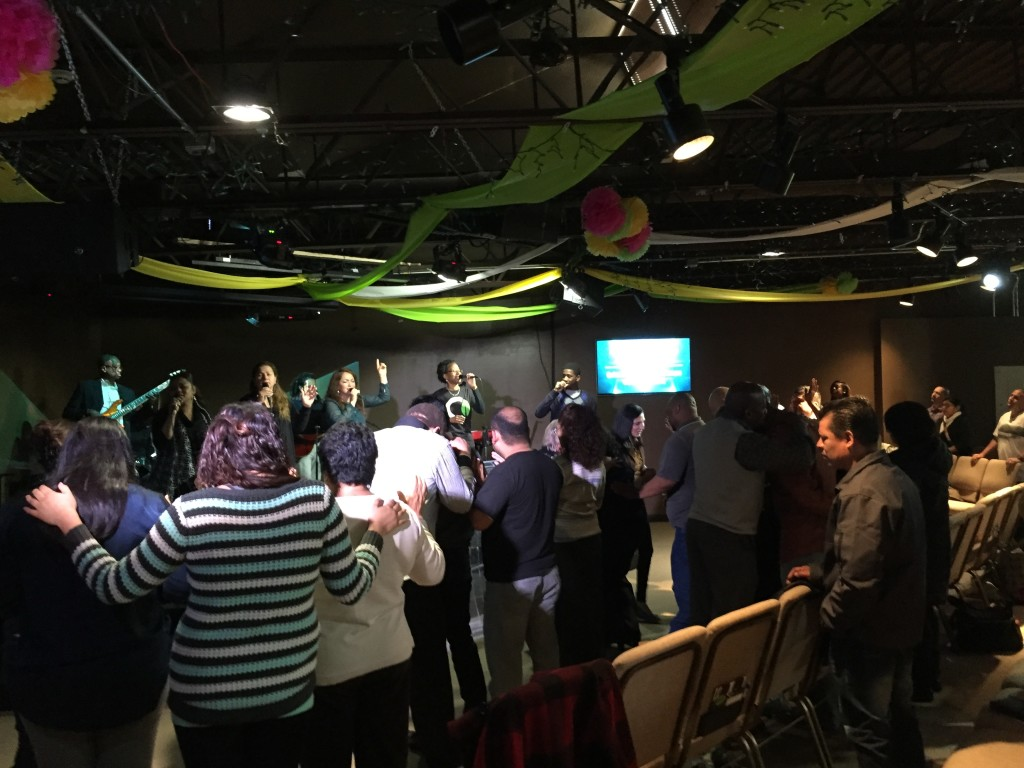 Altars were full in BI as people responded to the message with a desire for MORE of the Holy Spirit!