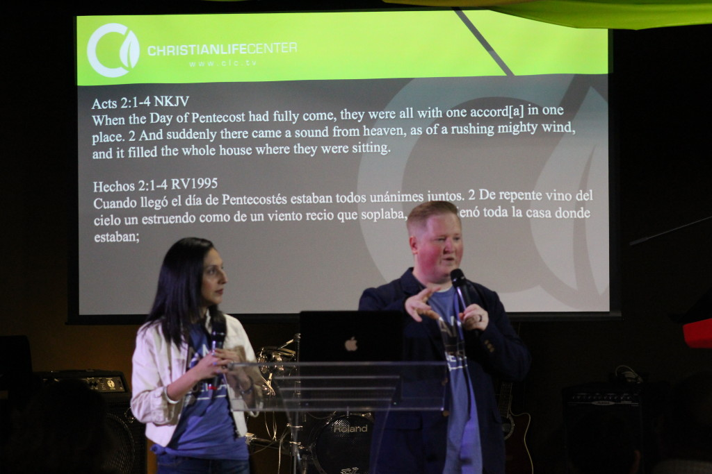 At our Blue Island campus, Pastors Brent & Sol used the day of Pentecost as an example of the power of UNITY, as they shared the vision of CLC-Blue Island