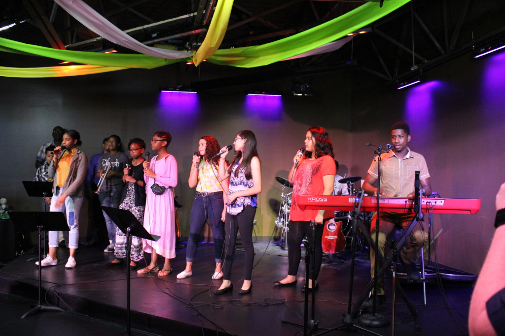 On this Family Sunday, our Youth led worship in Blue Island