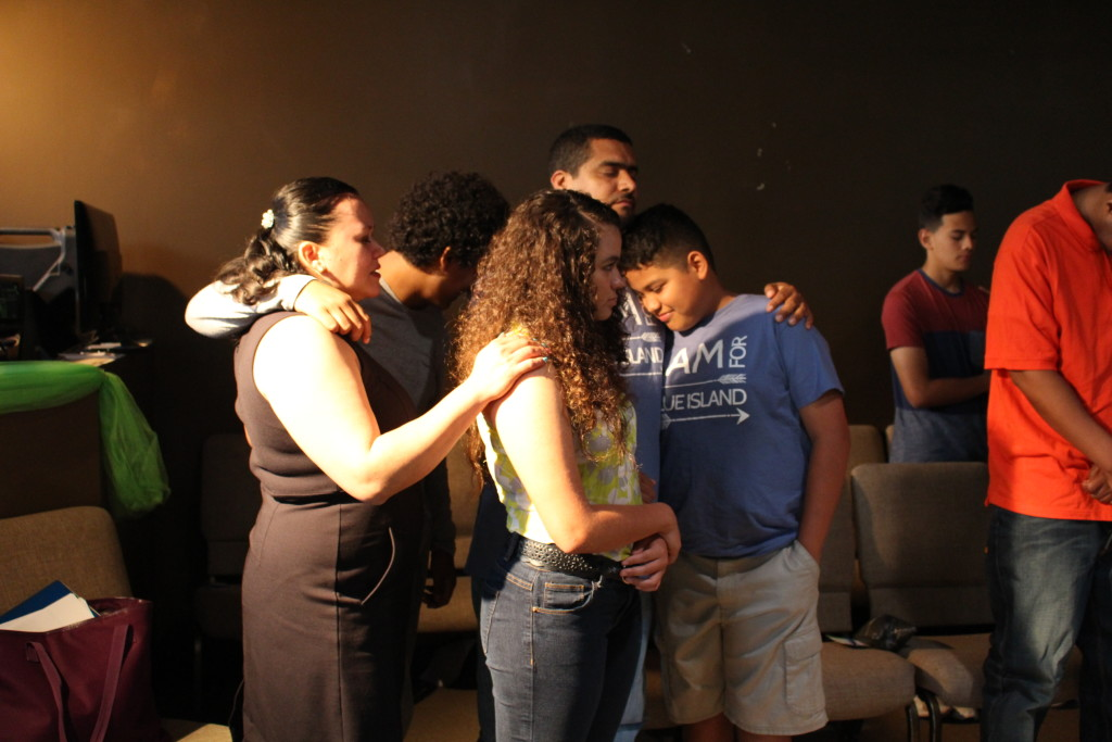 Even more importantly, Pastor Ben invited parents to come forward to pray with their children to be filled with the Holy Spirit, and about 12-15 children were baptized in the Spirit and received their prayer language!  One of our elders said it was the most powerful altar response he had ever seen at the Blue Island campus!