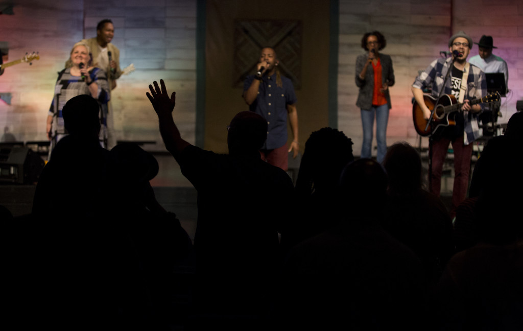 Don't you love the Servants of Praise?  Worship brings His Presence!