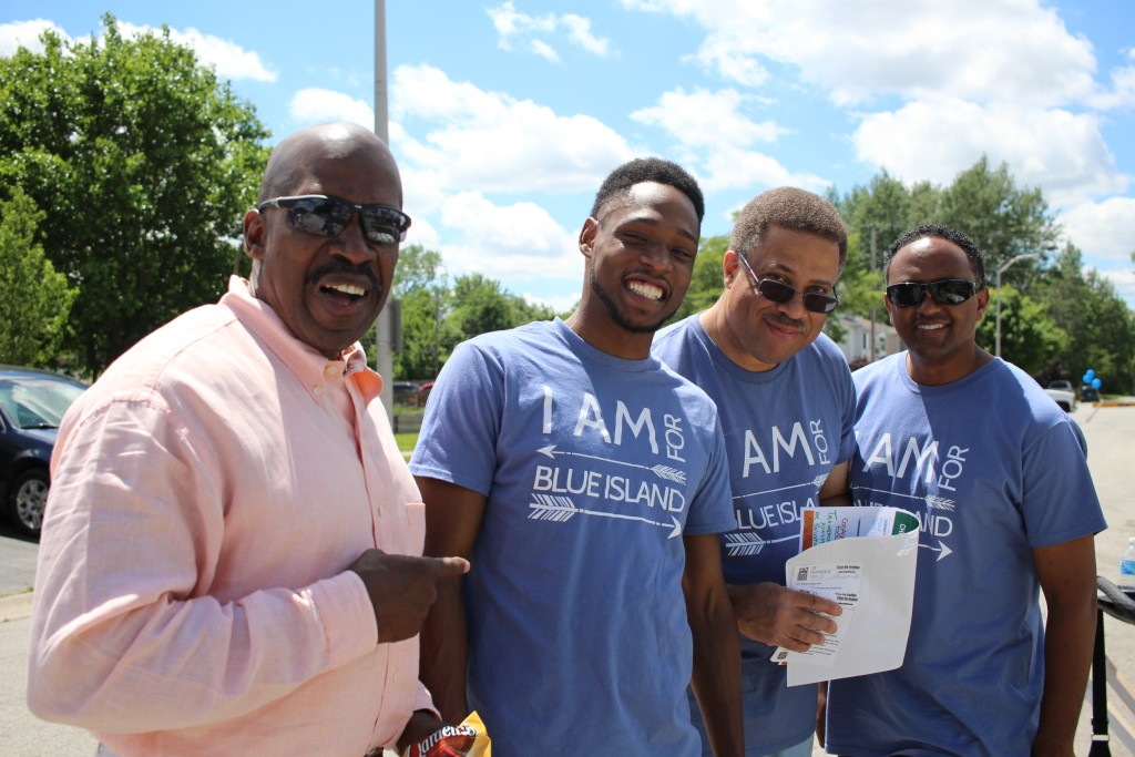 Today was a community event in the City of Blue Island, and our campus made a BIG hit with their T-shirts (so much so that some Aldermen were begging to get their own!)