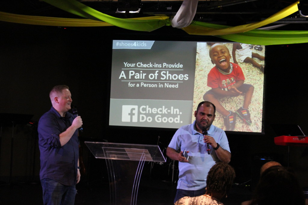 Kudos to CLC'ers - your Facebook check-in's are helping needy people in so many ways - hopefully over 150 impoverished folks will soon have a new pair of shoes because of you!
