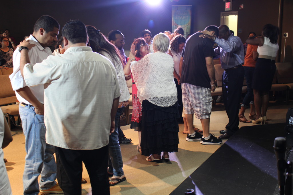 .....and the altars were FULL afterwards!
