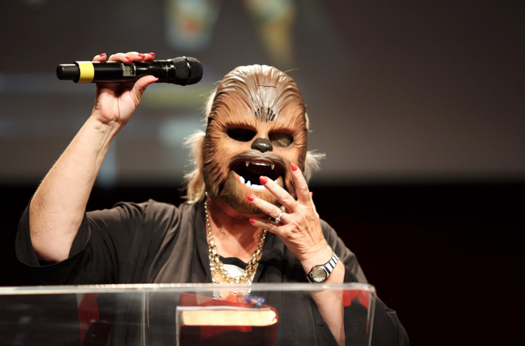 Pastor Wookie....I mean, Chris, preached a great message on 'Star Wars' today and Tinley Park enjoyed a great touch of the Holy Spirit afterwards, especially in the last 2 services.  Kudos, babe!