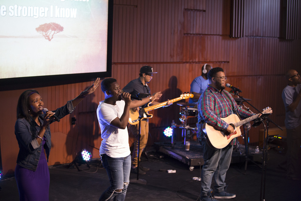 Great worship today at our NWI campus - thanks, Linelle & team!