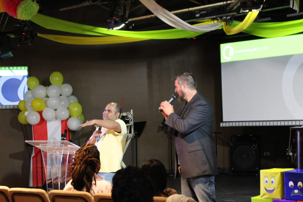 Pastor Ben preached with illustrations from CREED, and Jorge translated into Spanish