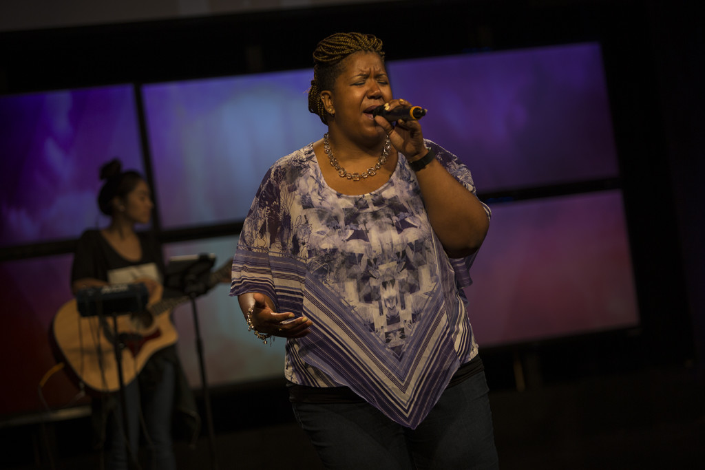 Love the fact that our worship ministry is a TEAM effort!  Kudos to Kara May on today's opening song-