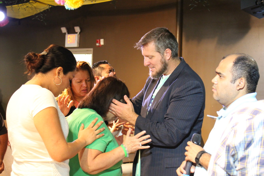Praise God for the work of the Holy Spirit at our Blue Island campus after Pastor Ben ministered the Word!