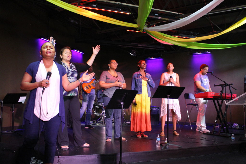 Our Blue Island worship team is SO faithful in leading us into God's Presence!