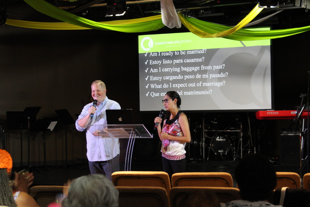 Our Blue Island campus pastors were back in town after vacation to preach the opening message of 'Family Matters'