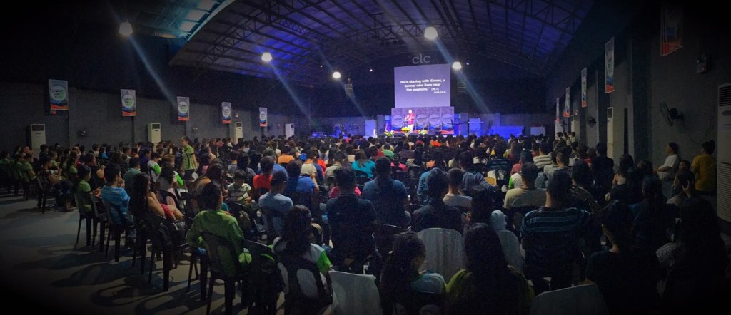 One of four services today at CLC-Davao!