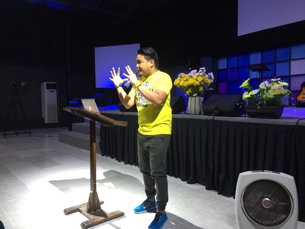 Pastor Joel Montes challenged all the pastors to prepare for the MULTITUDE that is coming!