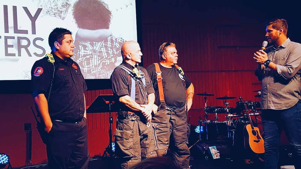 Hammond Firefighters were honored on this anniversary of 9/11 at our NWI campus
