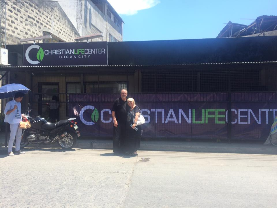 """This pic is from day 2, but what a great surprise to see """"CLC"""" so prominently displayed, even in a city we had never visited before."""