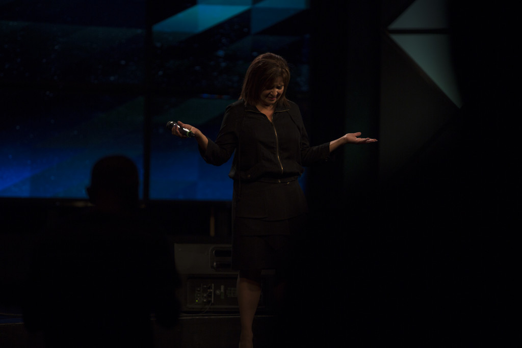 Today was a good day to SURRENDER to God's call! (Paula Thornton & the SoP led the way)