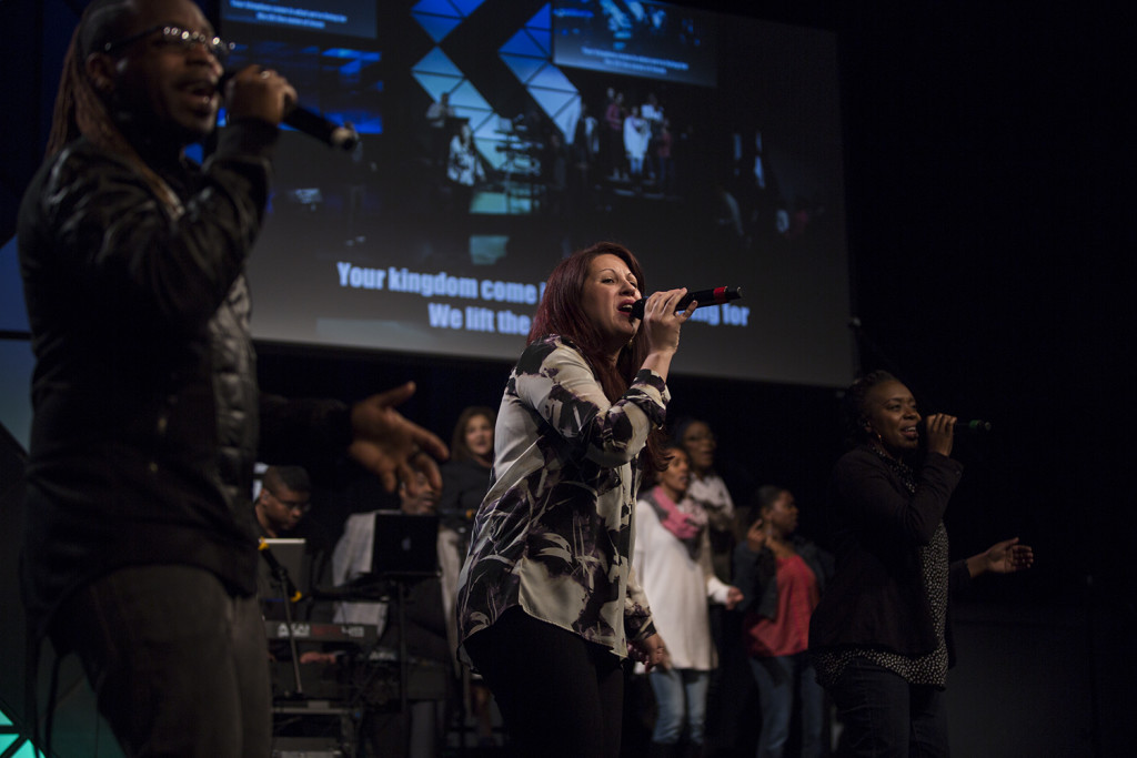 Even without our Worship Pastor or TP Worship Director, this TEAM led us into God's strong Presence!