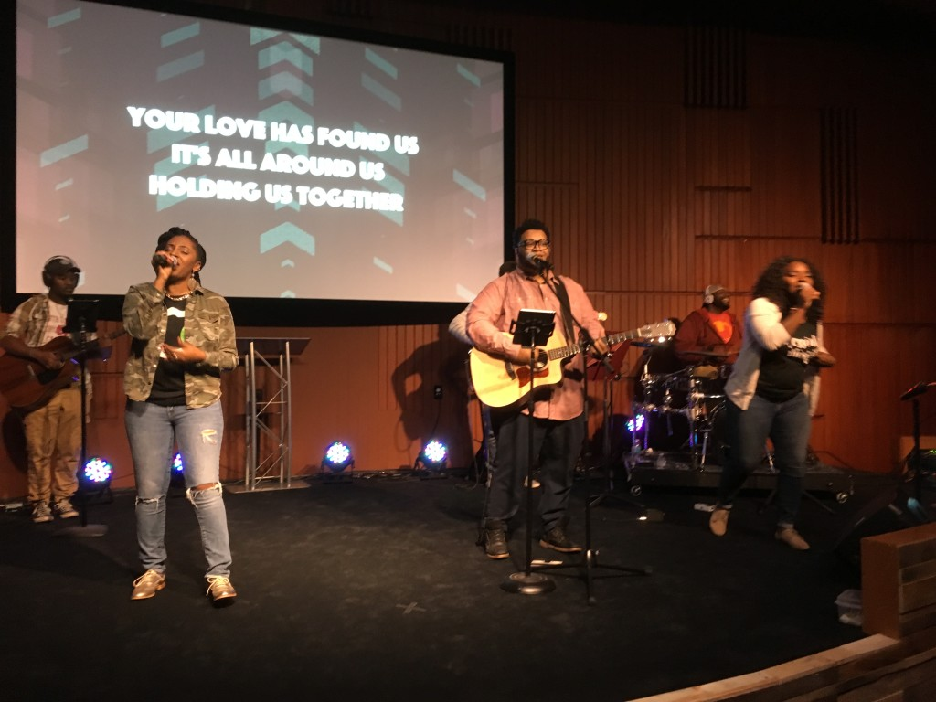 The NWI praise team was GREAT today!