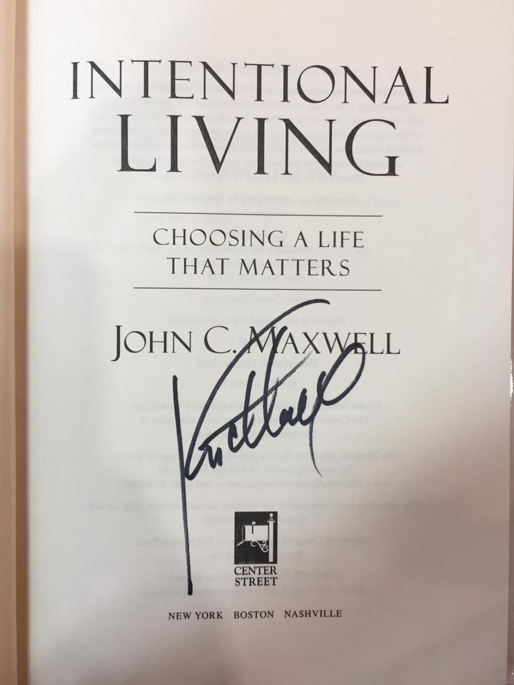 In fact, he even wanted a picture of John's autograph!