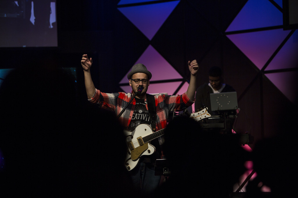 """This guy took us """"in"""" today - and 'The Cross Has the Final Word' is my new FAVORITE song! (Thanks, Harmony LaBeff & SoP!)"""