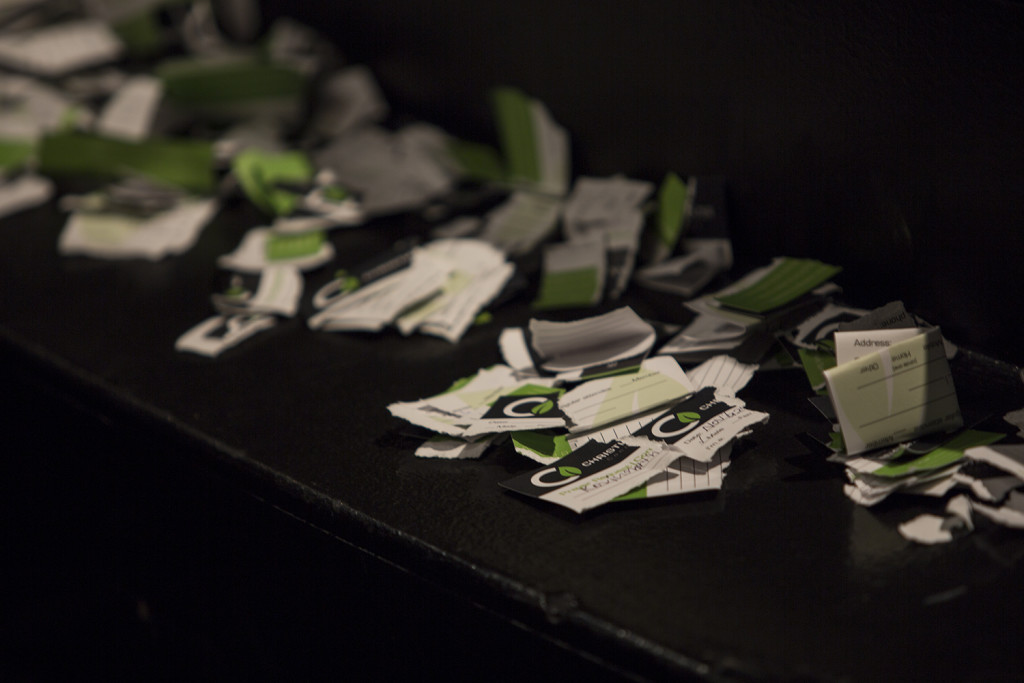 Every scrap of paper represents someone who was SET FREE from past hurts today!  Praise God for the power of forgiveness!