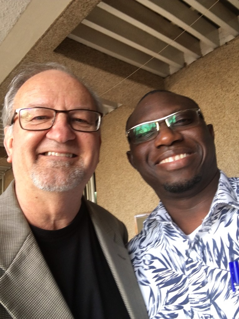 I thought a lot of CLC'ers would be glad to see this face: Pastor Eloi Dogue (whom we know from Senegal) is now part of the CAPRO international office & serves on the Council - he sends his greetings!