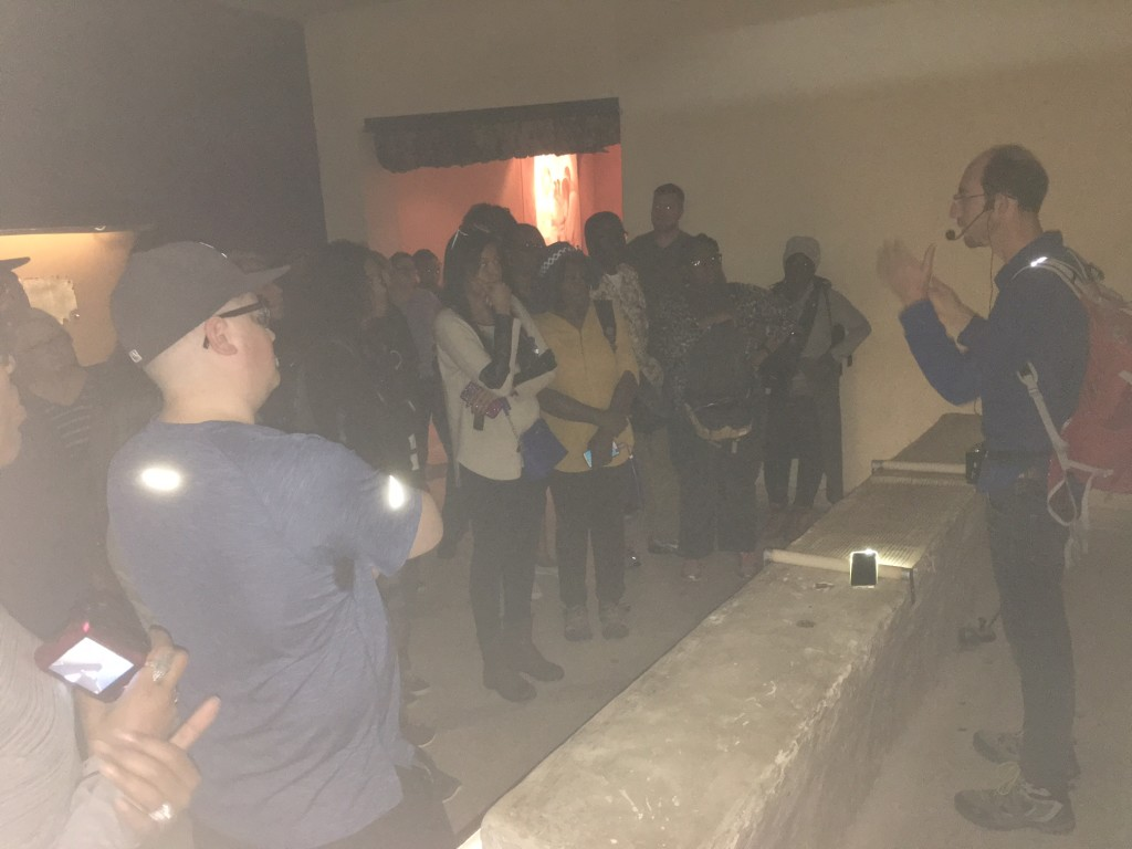 Our Messianic, Spirit-filled Tour Guide explains the significance of the Dead Sea scrolls at Qumran