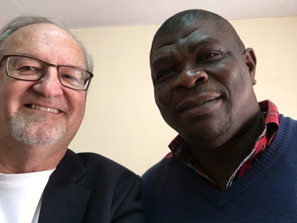 with Dondo Iorlamen, National Director for CAPRO in Nigeria