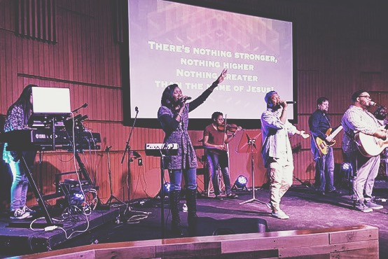 """Worship during """"Show Up Sunday"""" at NWI was great!"""